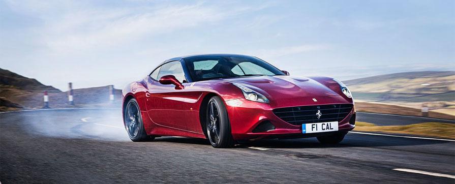 Аренда Ferrari California T