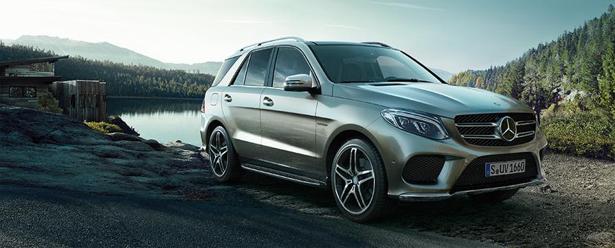 Mercedes GLE напрокат в Европе