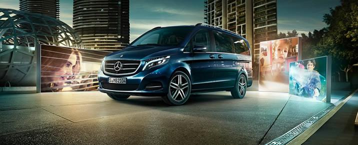Аренда V-Class Mercedes