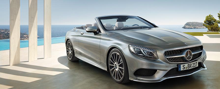 Арендуйте Mercedes S cabriolet