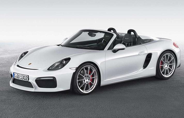 Porsche Boxster rental