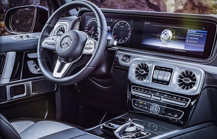 Mercedes G63 AMG inside