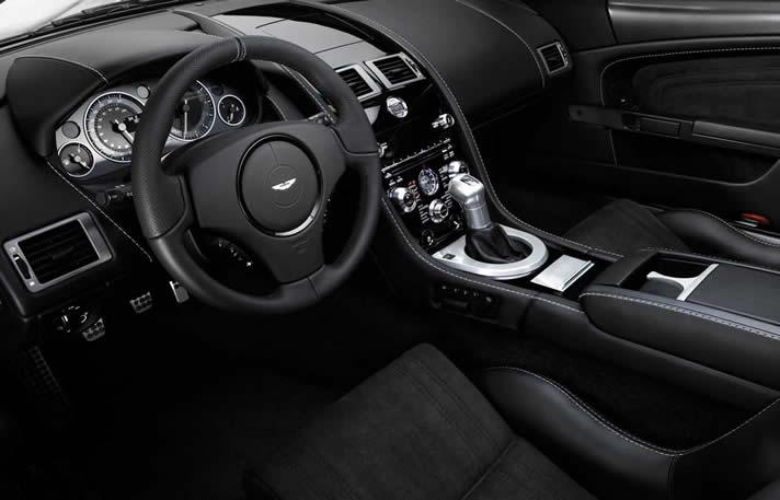 Aston Martin DBS inside