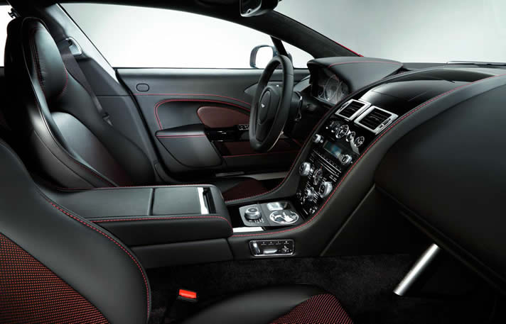 Aston Martin Rapide inside
