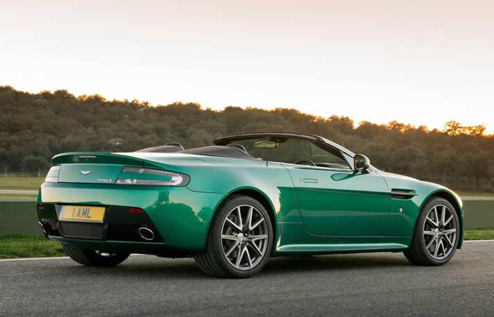 Aston Martin V8 Cabriolet hire