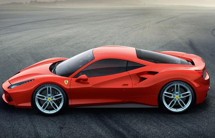Ferrari 48 GTB rental