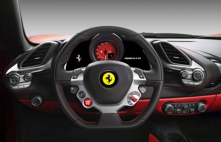 Ferrari 48 GTB interior
