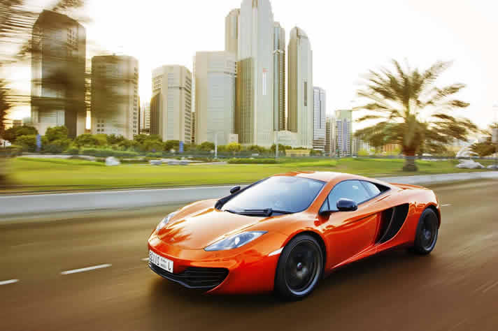 MAC LAREN MP4-12C