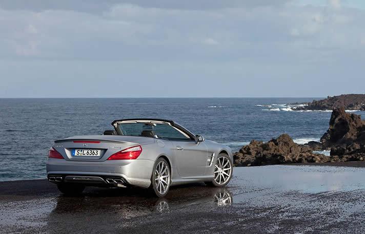 Mercedes SL63 AMG hire