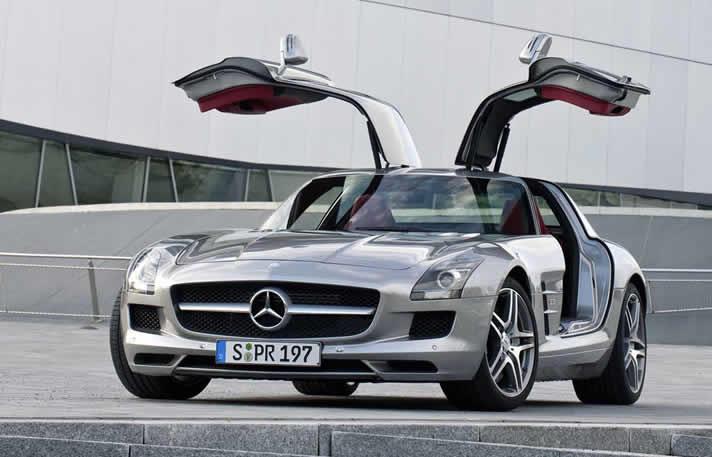 Mercedes SLS AMG rental
