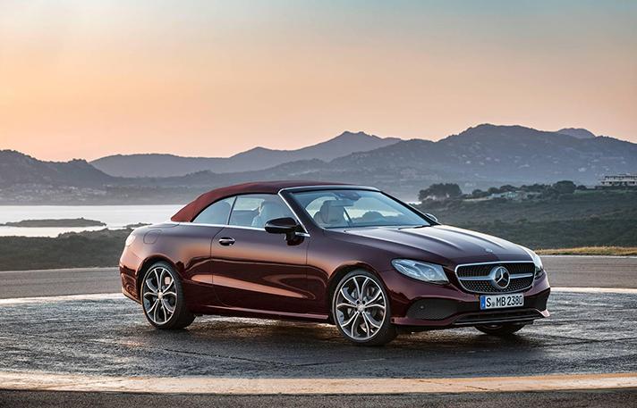 Convertible Mercedes E Class